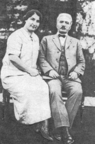 Генерал Андраник со второй женой Нвард