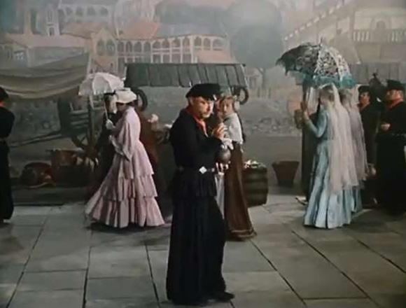 ЛеонидНеведомский в спектакле«Ханума»