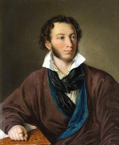 Василий Тропинин. Портрет А.С. Пушкина, 1827
