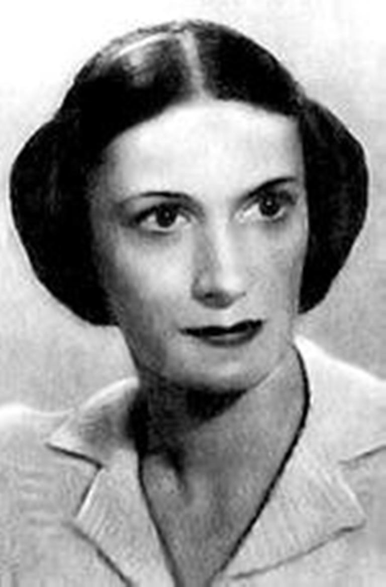 """Нина Анисимова (1909-1979), артистка балета, Заслуженный деятель искусств РСФСР, автор первой постановки """"Гаянэ""""."""