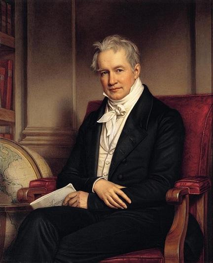 Йозеф Карл Штилер.ПортретАлександра фон Гумбольдта,1843