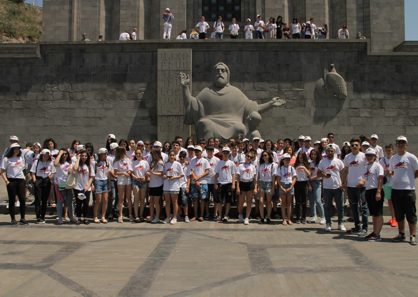 Участники программы «Ари Тун» в Ереване | aritun.am