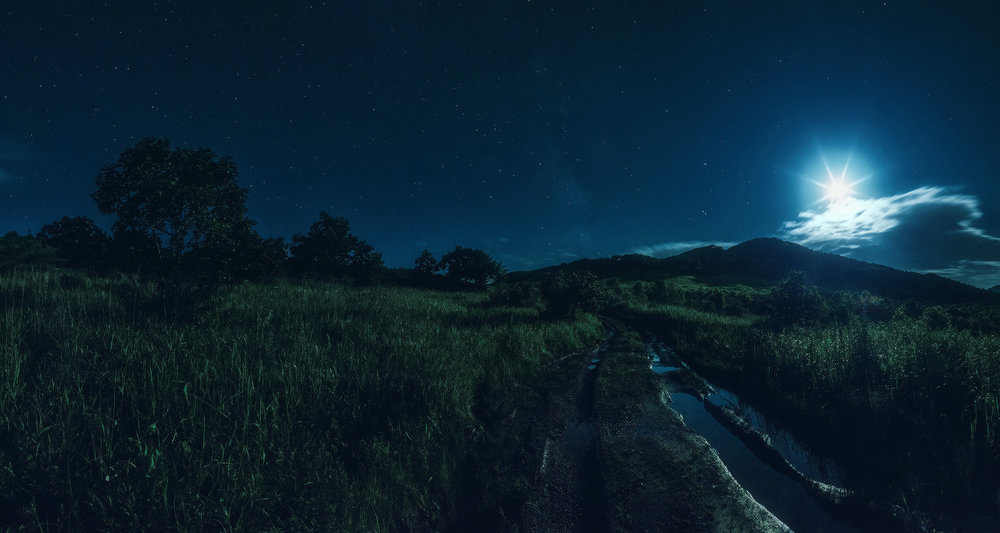 Лунное очарование… Фото©Voss ǁphotoclub.by
