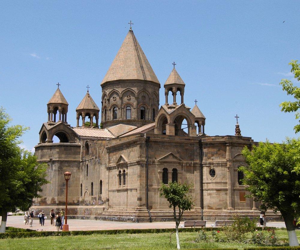 Эчмиадзинский кафедральный собор | kavehfarrokh.com