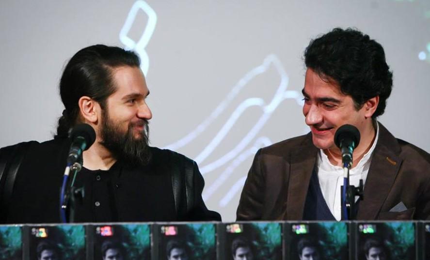 Жано Багумян и Хомаюн Шаджарьян на презентации альбома | mehrnews.com