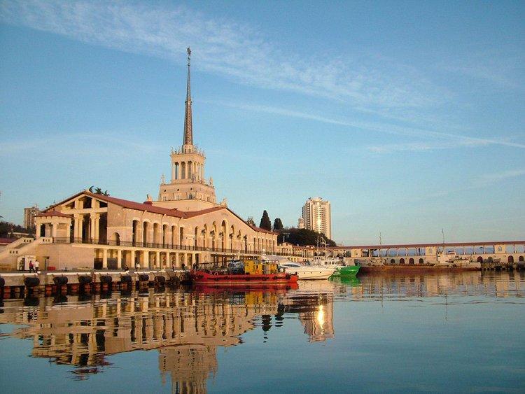 Вокзальный комплекс Морского порта Сочиǁdiscoveric.ru