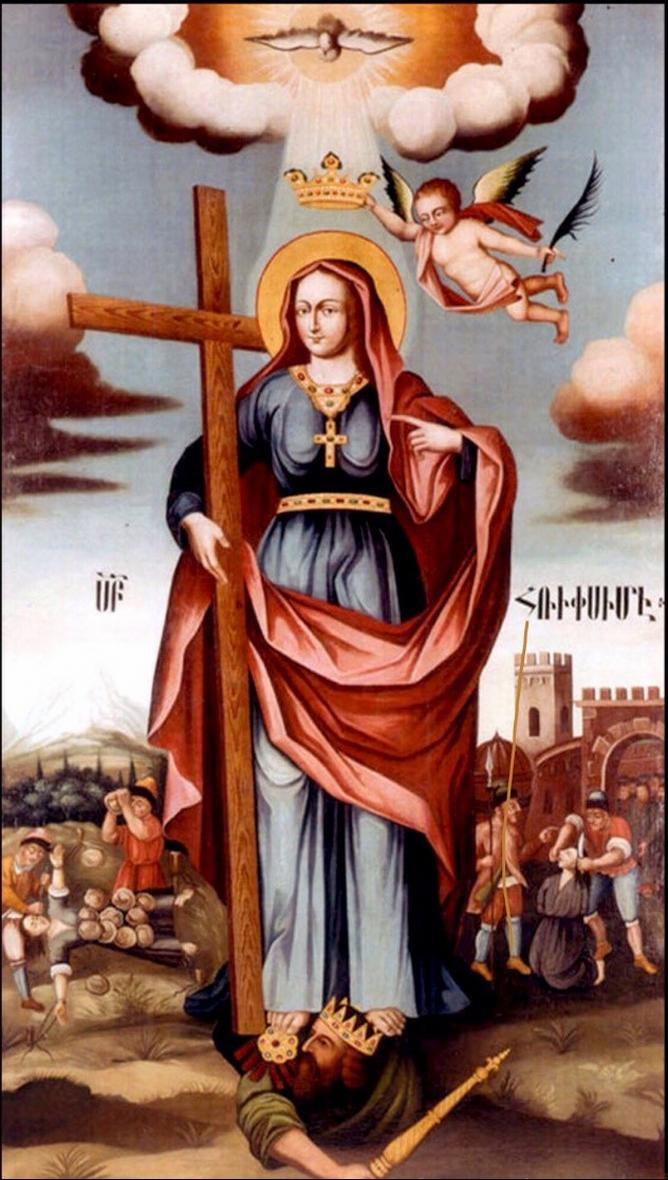 Изображение святой Рипсиме кисти Овнатана Овнатаняна | wikipedia.org