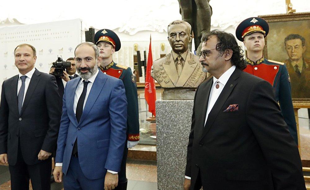 Никол Пашинян в Музее Победы |primeminister.am