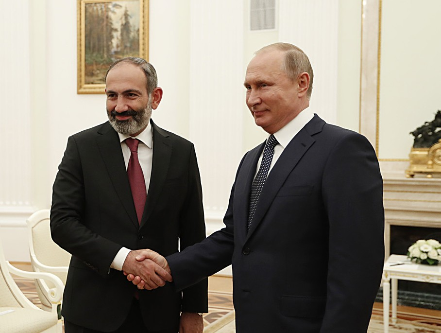 На встрече с Владимиром Путиным | primeminister.am
