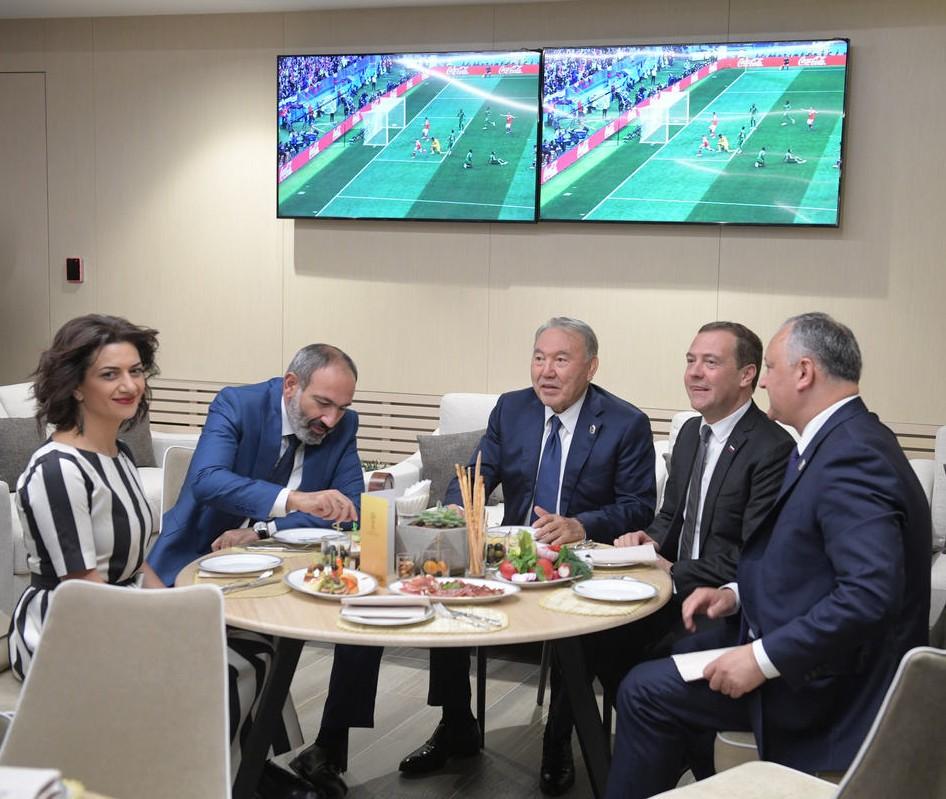 На церемонии открытия чемпионата | primeminister.am