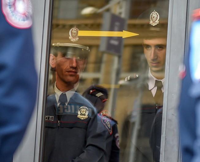Сотрудники полиции Армении | armeniasputnik.am