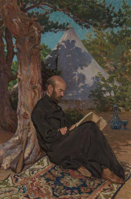 Портрет кисти Фаноса Терлемезяна, Национальная галерея Армении