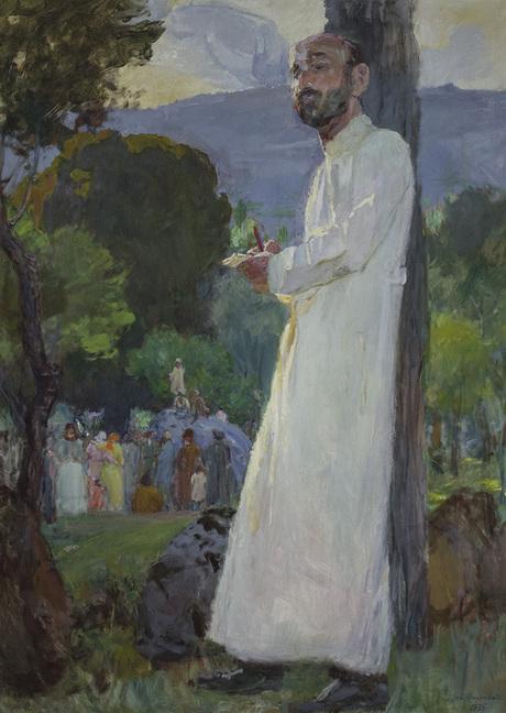 Портрет кисти Егише Тадевосяна, Национальная галерея Армении
