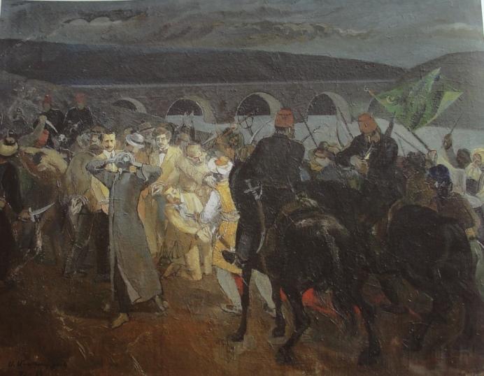 Саркис Мурадян. «Голгофа Армении»