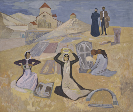 «Цахкапсак» Генри Сиравяна, Национальная галерея Армении
