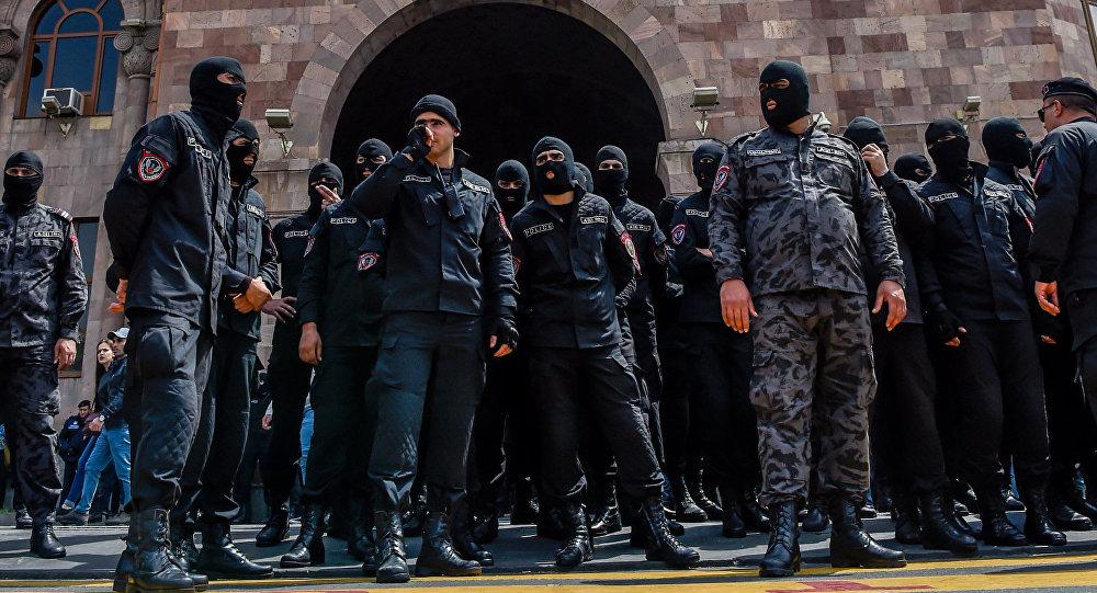 Сотрудники СНБ ©Sputnik / Asatur Yesayants | armeniasputnik.am