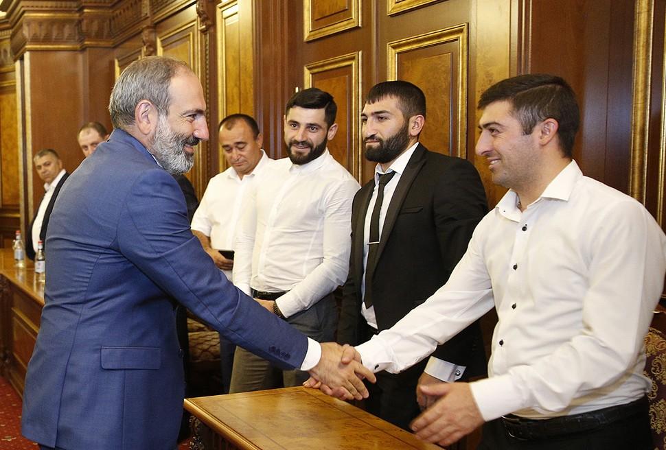 Никол Пашинян на встрече с бизнесменами | primeminister.am