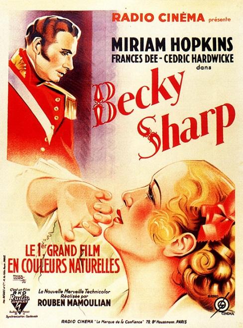 Постер фильма «Бекки Шарп»