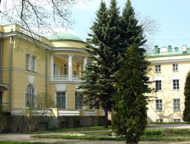 Ротонда паркового фасадаǁ  tsarselo.ru