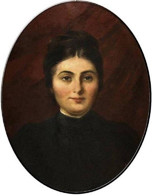 Портрет Анны Никитичны Айвазовской. 1881