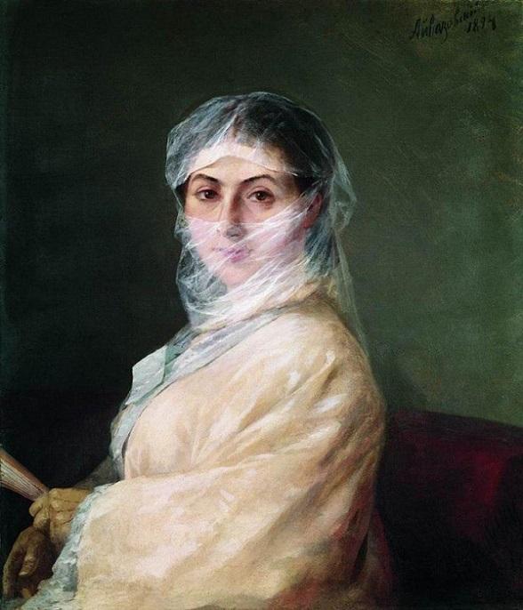 Анна Никитична Бурназян-Саркизова. 1882