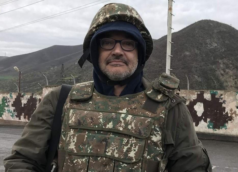 Антон Носик в Карабахе | livejournal.com
