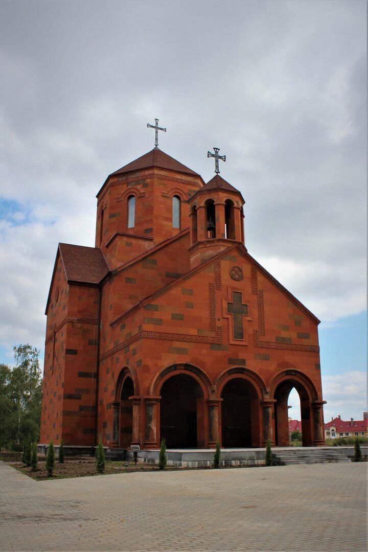 Церемония открытия церкви Сурб Геворг| armdiaspora76.ru