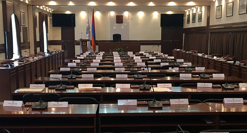 Зал заседаний Совета старейшин ©Sputnik / Nelly Danielyan | armeniasputnik.am
