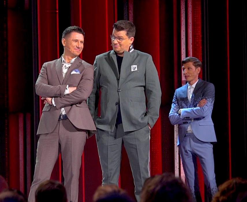 Тимур Батрутдинов, Гарик Харламов и Павел Воля ©Официальное сообщество Comedy Club | vk.com