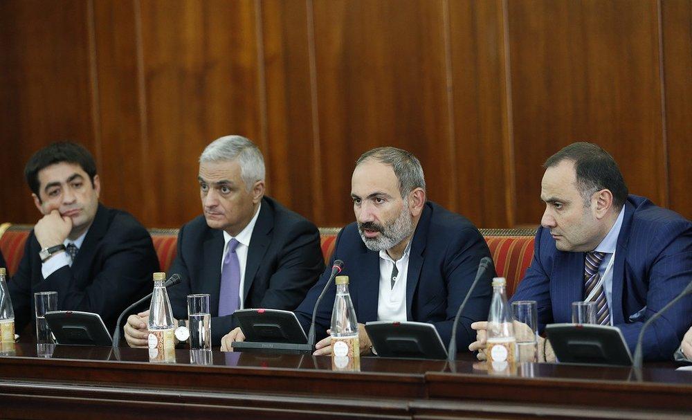 Встреча Пашиняна с бизнесменами   primeminister.am
