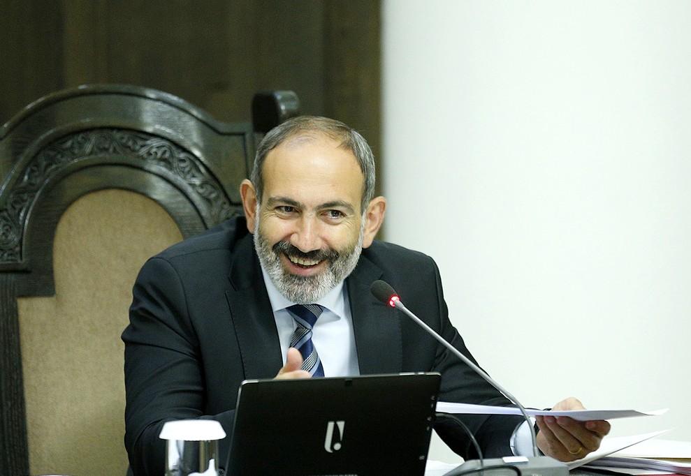 Пашинян на заседании правительства | primeminister.am