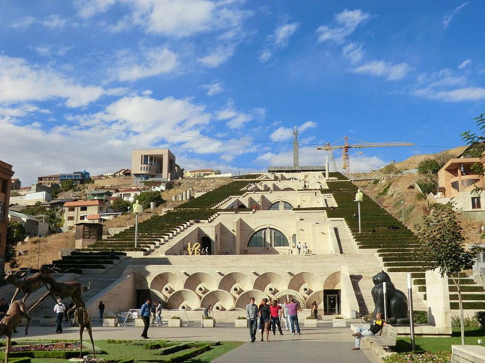 Ереванский Каскад | wikimedia.org