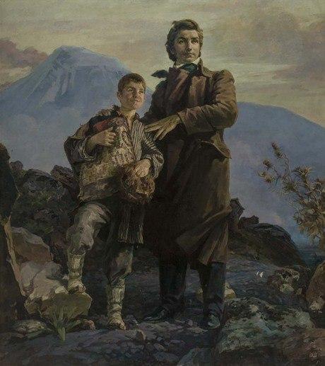 Ованес Зардарян.ХачатурАбовян(«Поверь, и будет рассвет»), 1949