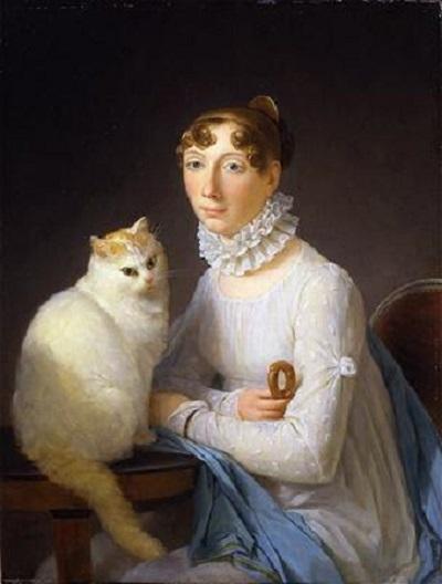 Маргарет Жерар.«Дама с кошкой»