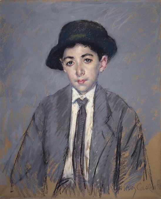 Мэри Стивенсон Кассат. Портрет Чарльза Тиграна Келекяна, 1910. Художественный музей Уолтерс, Балтимор, США