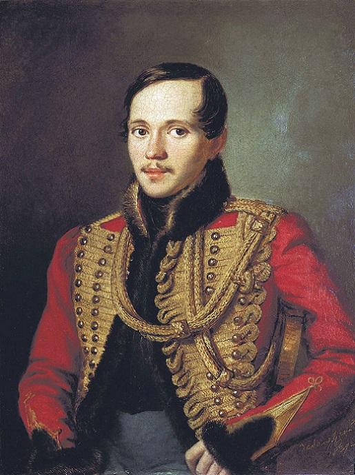 Петр Заболотский. Лермонтов в ментике лейб-гвардии Гусарского полка, 1837