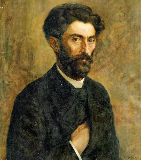 Фанос Терлемезян. Портрет художника Г. Башинджагяна