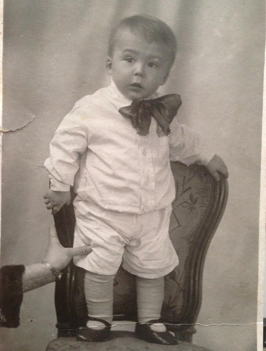 Андрей Битов в детстве