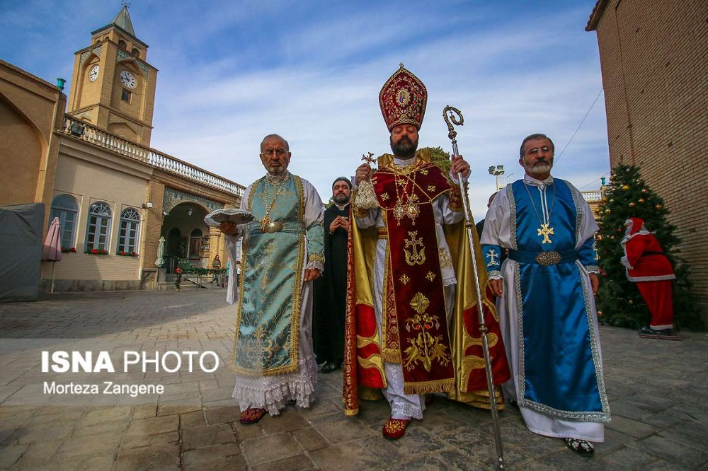 В Исфахане новогодние и рождественские службы проходят в соборе Сурб Аменапркич (Ванк), который считается одним из самых красивых в мире | isna.ir