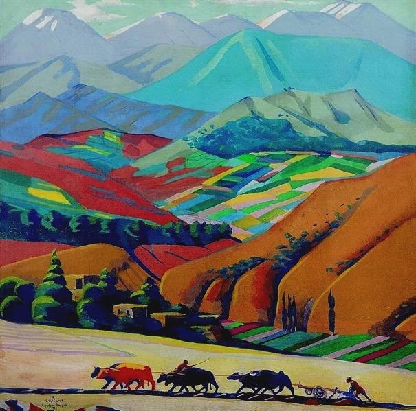 «<b>Невская палитра</b>» превратила природу Армении в <b>набор красок</b> ...