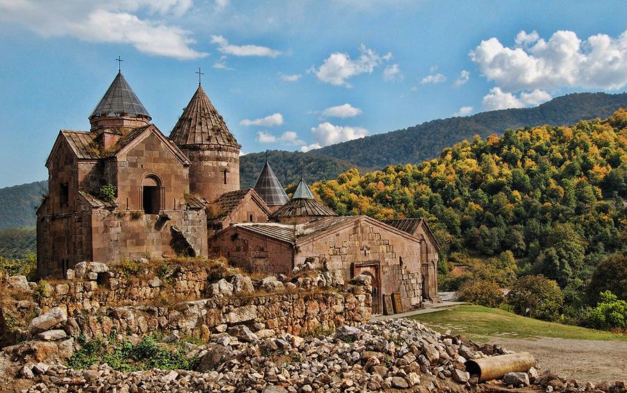 Монастырь Гошаванк, село Гош (Тавушская область) ǁ about-planet.ru