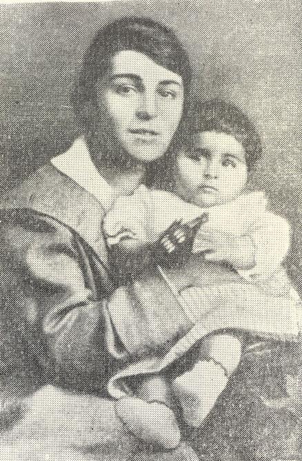 Анаит с дочерью Нвард, 1921 год