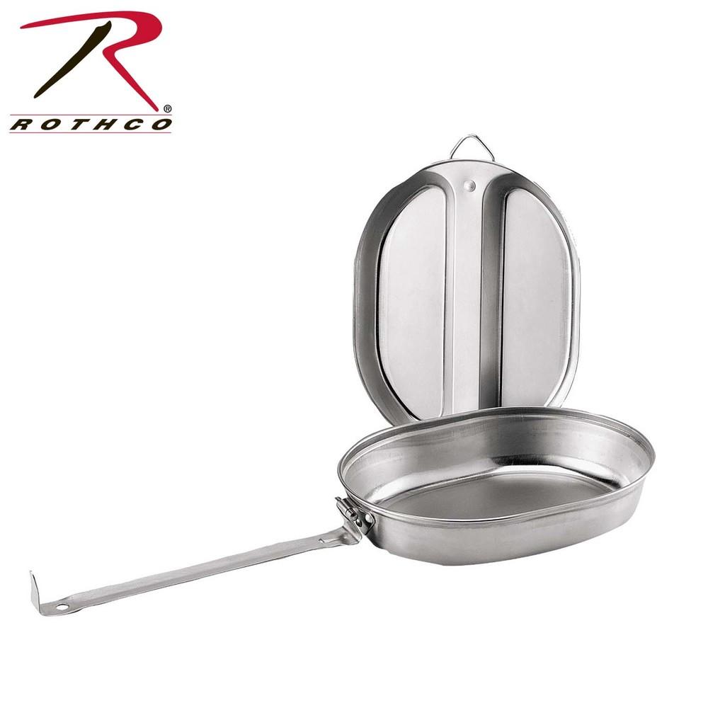 Rothco GI Type Stainless Steel Mess Kit: $15
