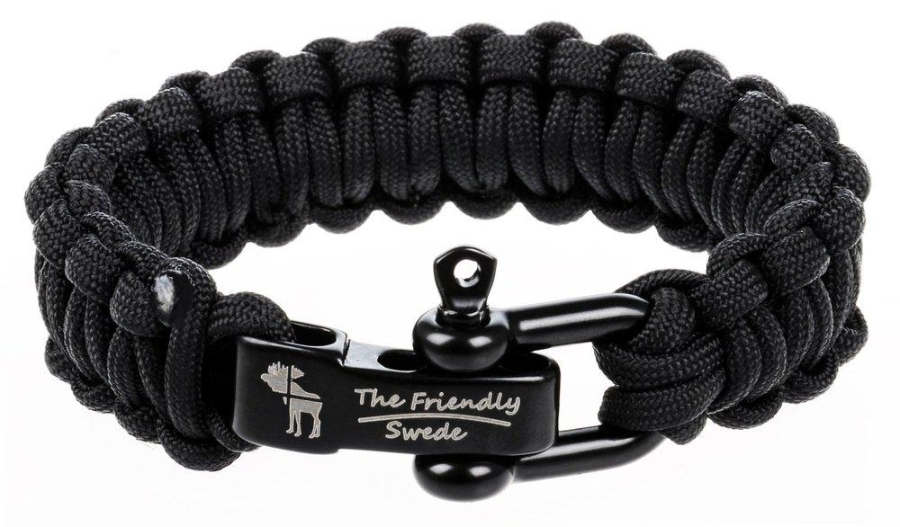 The Friendly Swede Paracord Bracelet: $8