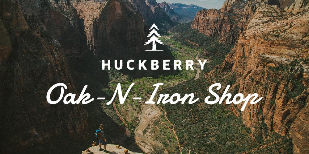 Oak-n-Iron x Huckberry Shop - Price Range $11 - $295
