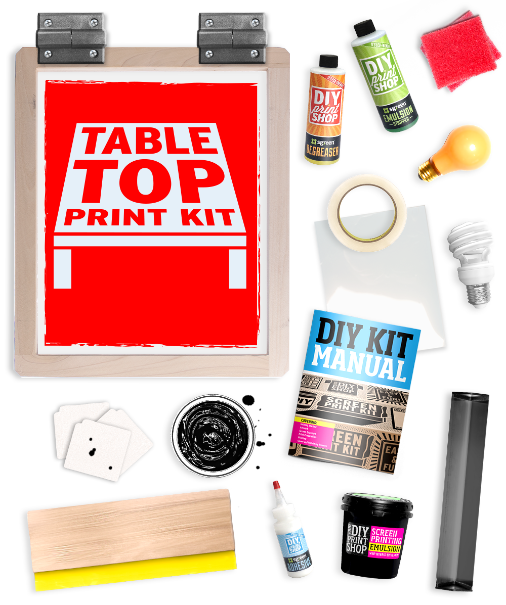 DIY Table Top Print Kit: $99