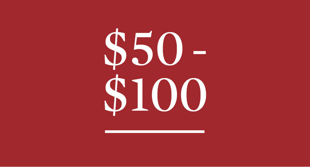 Gifts $50 - $100