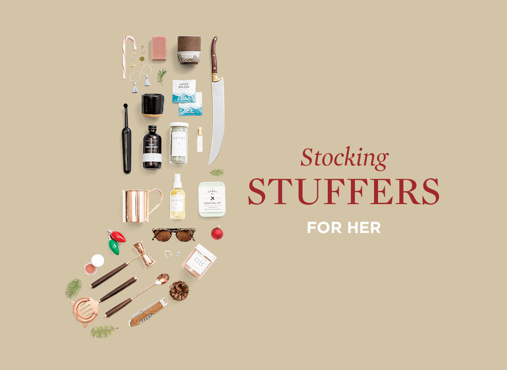 Huckberry's  Stocking Stuffers for her (Starting at $4+)