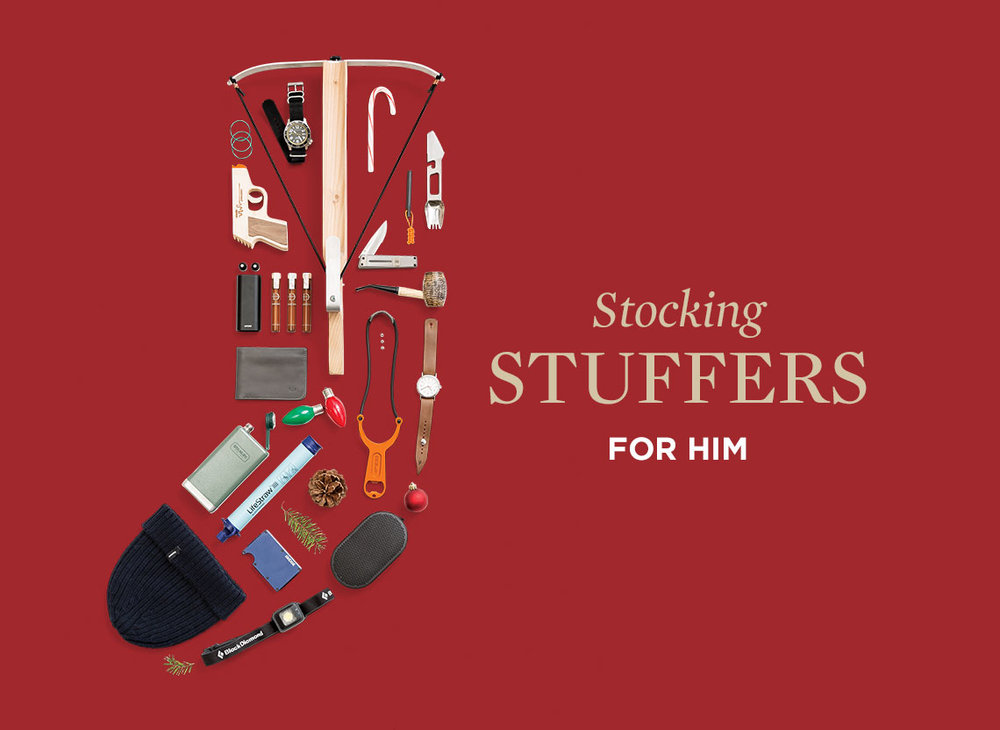 Huckberry's  Stocking Stuffers for Him (Starting at $12+)