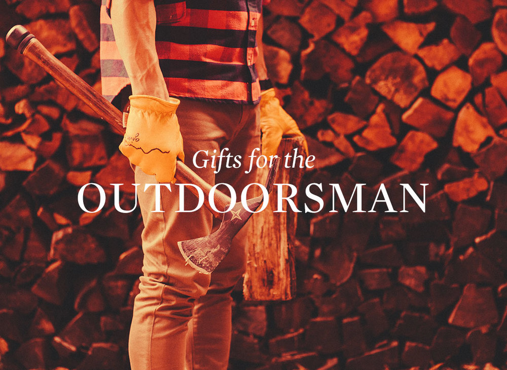 Huckberry's  Gifts for the Outdoorsman (Starting at: $12+)